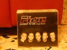 FIVE - CLOSER TO ME single remix 4,29 cd slim case PROMOZIONALE 2001