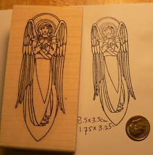 Angel rubber stamp  WM P19