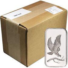 SilverTowne Trademark Eagle 1oz .999 Silver Bar - Monster Box OF 500