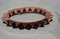 Pyramid Stud Stretch Fashion Jewelry Bracelet! Steampunk!