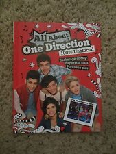 All about One Direction by Parragon Books Staff (2012, Hardcover) 1D BOOK