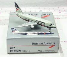New Vintage Schabak BRITISH AIRWAYS Boeing 737 Diecast 1:600 scale