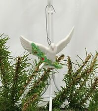 Vintage Goebel 1989 Dove Christmas Ornament