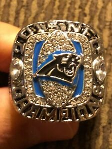 2015 CAM NEWTON COMMEMORATIVE CHAMPIONSHIP RING PANTHERS SIZE 11