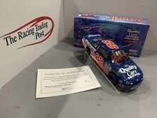 1999 Dale Jarrett Quality Care 1/24 Action RCCA CWB NASCAR Diecast Autographed