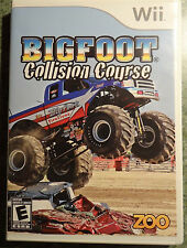 Bigfoot: Collision Course (Nintendo Wii, 2008) (game disc only--no case)
