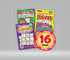 Penny Dell Favorite Sudoku Puzzles 16-pack