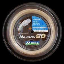 YONEX NANOGY 98 200M COIL BADMINTON RACKET STRING GOLD COLOUR