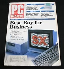 PC Magazine January 30 1990 Vol 9 #2 Best Buy for Business 31 386SX Machines