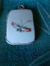 Small Pink Butterfly Ming Pottery Shard
