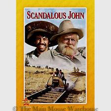 The Wonderful World of Disney Scandalous John Rare Hilarious Disney Western DVD