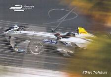 Jerome D'Ambrosio Hand Signed Formula E Promo Card Rare 1.