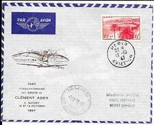 FRANCE 1947 FLIGHT COVER