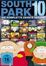 3 DVDs * SOUTH PARK - DIE KOMPLETTE 10. STAFFEL # NEU OVP +