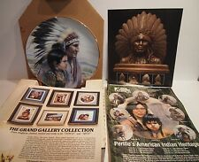 Gregory Perillo 1987 The Crow Nation American Indian Heritage Series W/COA