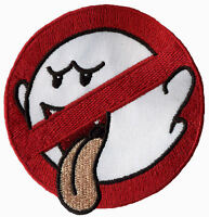 No Boo Ghostbusters No Ghost Embroidered Iron-on Patch