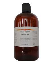 16 oz Vitamin C (L-Ascorbic Acid) 25% with Pure Hyaluronic Acid Anti Aging Serum