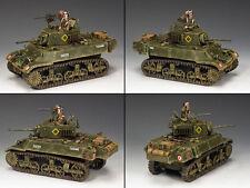 """King and country M3A3 Stuart Tanque de Luz"""" """"Día D Segunda Guerra Mundial DD223"""