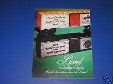 1986 LIONEL STOCKING STUFFERS