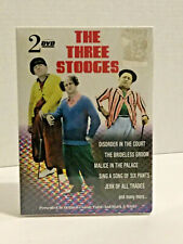 The Three Stooges - 2-Pack (Dvd, 2003) Brand new unopened