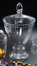 Vaso con coperchio 34 cm in vetro by Paben