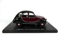 Citroën 2CV 6 Charleston - 1/24 Salvat Voiture miniature Diecast car E007