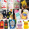 New Cartoon 3D Cute Animals Soft Silicone Case Cover Rubber For Apple iPhone