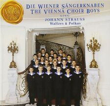 DIE WIENER SÄNGERKNABEN SINGEN JOHANN STRAUSS - WALZER & POLKAS - CD - NEU
