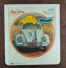 Herbie Rides Again - Disney - CED SelectaVision VideoDisc  From large collection