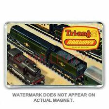 Tri-ang (Triang) TT GAUGE RAILWAYS - CATALOGUE COVER  - JUMBO FRIDGE MAGNET
