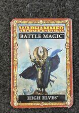Warhammer Fantasy Battle Magic Cards - High Elves