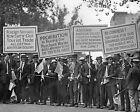 "Prohibition Demonstration 8"" - 10"" B&W Photo Reprint"