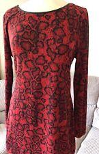 M&S knit tunic dress,VGC, UK 14, EU 42