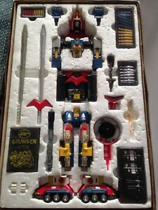 Voltes V vintage yellow joint Popy DX and ST Ultimate collection