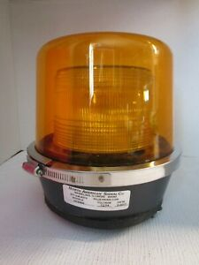 North American Signal #DFS900 Amber Revolving Strobe Light Never Used