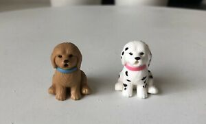 Vintage Barbie Kennel Care Pet Vet 2 Dogs Figure 2001 Replacement Toy Used