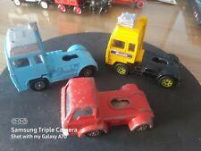 3x Corgi Superhaulers & Junior Tractor Units - Ford + Volvo - As Photos
