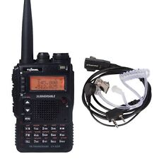 UV-8DR Tri-Band Submersible VHF/UHF Amateur Radio Transceiver With Earpiece