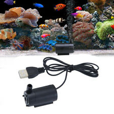 Usb 1 Meter Cable Mute Fish Tank Small Water Pump Mini Submersible Pump Black