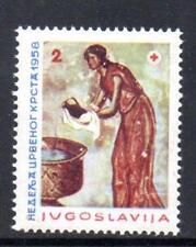 YUGOSLAVIA MNH 1958 SG878 OBLIGATORY TAX. RED CROSS