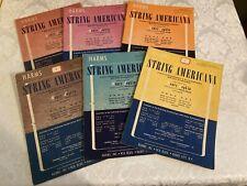 STRING ENSEMBLE  SHEET MUSIC lot of 6 STRING AMERICANA BOOK ONE