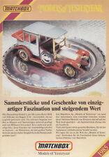 "Matchbox ""Models of Yesteryear Katalog"" 1985 deutsch"