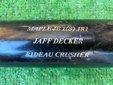 SAN DIEGO PADRES JAFF DECKER GAME USED BASEBALL BAT