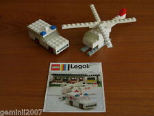 LEGO SET 653-1 Ambulance and Helicopter - Vintage (1973) - Complete NO BOX - VGC