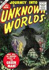 Journey Into Unknown Worlds 38 Comic Book Cover Art Giclee Repro on Canvas