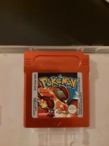 Nintendo Gameboy Pokemon Red Boxy Pixel Aluminium Cart Shell.