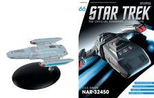 Eaglemoss Diecast STAR TREK ST0066 S.S. RAVEN EXPLORATION SHIP w/MAGAZINE #66