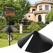 New listing Squirrel Baffle Protect Poles and Hanging Bird Houses from Raccoons Rodents