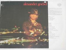 ALEXANDER GOEBEL -s/t- LP