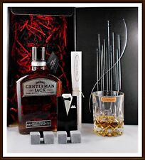 Geschenk Jack Daniels Gentleman Tennessee Whiskey Kühlsteine Smoking Whisky Glas